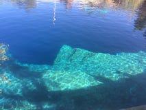 Blaues Loch Lizenzfreie Stockfotos