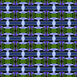 Blaues Lotus nahtlos lizenzfreie abbildung