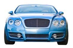 Blaues Luxuxauto Stockbild