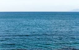 Blaues Meer Lizenzfreies Stockbild