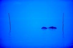 Blaues Meer stockfotografie