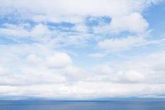 Blaues Meer Blaues Meer, Himmel u Stockbilder