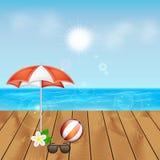 Blaues Meer, Himmel u lizenzfreie stockfotos