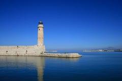 Blaues Meer und Himmel Stockfotografie