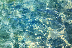 Blaues Meerwasser lizenzfreies stockfoto