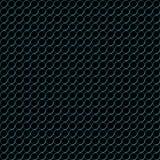 Blaues Metall schellt Muster Stockfotografie