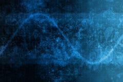 Blaues modernes abstraktes Unternehmensdaten-Internet-Rasterfeld lizenzfreie abbildung