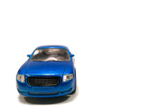 Blaues modernes Auto Lizenzfreie Stockbilder