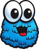 Blaues Monster Stockfotografie