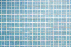 Blaues Mosaik Stockfotografie