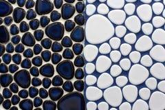 Blaues Mosaik Lizenzfreies Stockfoto