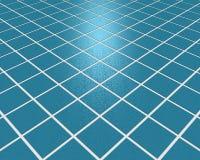 Blaues Mosaik Fliehens Lizenzfreie Stockfotos