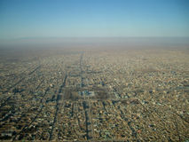Blaues Moschee mazar-e sharif Afghanistan Stockfotografie