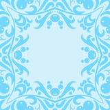 Blaues Muster vektor abbildung