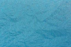Blaues natürliches Frosty Glass Ice Background Winter-Weihnachtsweihnachten Stockfoto