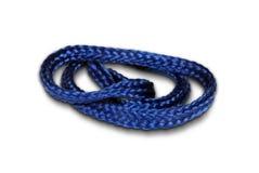 Blaues Netzkabel Stockbild