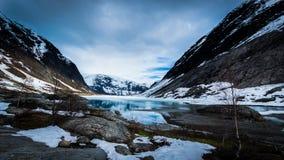 Blaues Norwegen Lizenzfreie Stockfotos