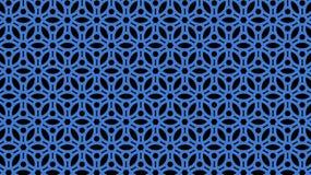 Blaues openwork Gitter Beschaffenheit 3d tapeten Lizenzfreie Stockfotografie