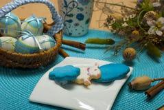 Blaues Ostern Lizenzfreie Stockfotografie