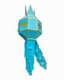 Blaues Papier Yis Peng Lantern Lizenzfreies Stockbild