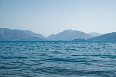 Blaues Paradies Stockfoto