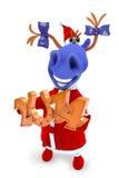 Blaues Pferd 2014 Lizenzfreie Abbildung
