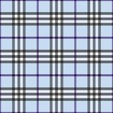 Blaues Plaid Stockfotografie