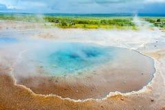 Blaues Pool Blesi Stockfoto