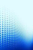 Blaues Punkt-Muster Stockfotos