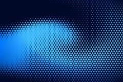 Blaues Punkt-Muster Lizenzfreies Stockbild