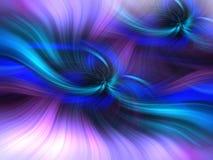 Blaues Purpur abstrakt gefärbt Konzept-Einblick stock abbildung