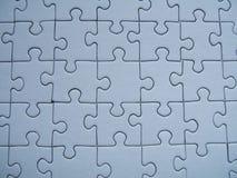 Blaues Puzzlespiel Stockfoto