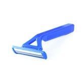 Blaues Rasiermesser Stockfoto