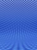 Blaues Rasterfeld Lizenzfreie Stockfotografie