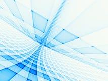 Blaues Rasterfeld Lizenzfreies Stockfoto