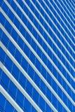 Blaues Rasterfeld Stockfotografie