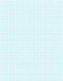 Blaues Rasterfeld auf Weiß Lizenzfreies Stockbild