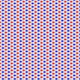 Blaues Rot-und Weiß-Muster Lizenzfreies Stockfoto