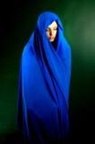 Blaues ruhiges lizenzfreies stockfoto