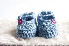 Blaues Schätzchen-Beuten Stockfoto