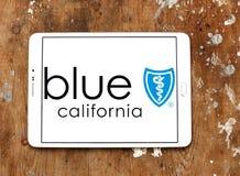 Blaues Schild von Kalifornien-Logo Lizenzfreies Stockbild