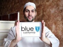Blaues Schild von Kalifornien-Logo Stockfoto