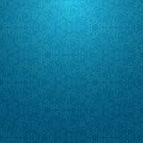Blaues Schneemuster Stockfotografie