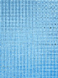Blaues Schwarzweiss Lizenzfreies Stockfoto