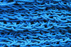 Blaues Seil Lizenzfreies Stockbild