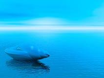 Blaues Shell Stockfotografie