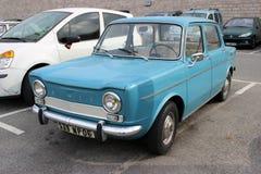 Blaues Simca 1000 Lizenzfreie Stockfotografie