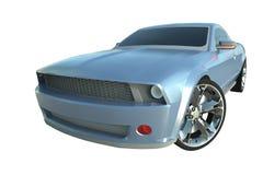 Blaues Sport-Auto stockfoto