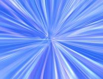 Blaues starburst Stockbild