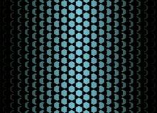 Blaues Steigungsmuster der Flocke Lizenzfreies Stockbild